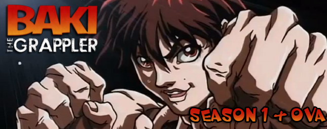 Review: Baki the Grappler (Season 1 + 1996 OVA)-A Warrior's Journey